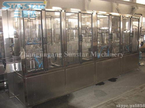 Big Bottle Water Washing Filling And Capping Machine(CGF8-8-2)