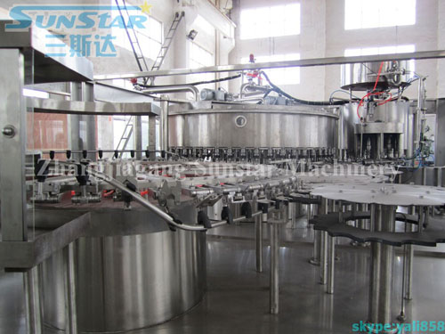 High Output Water Filling Line(CGF50-50-12)