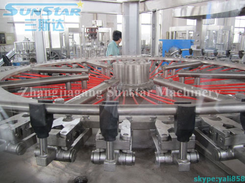 High Output Water Bottling Line(CGF50-50-12)