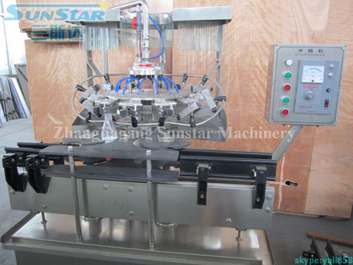 Auto Plastic Bottle Rinser (Rotary type)