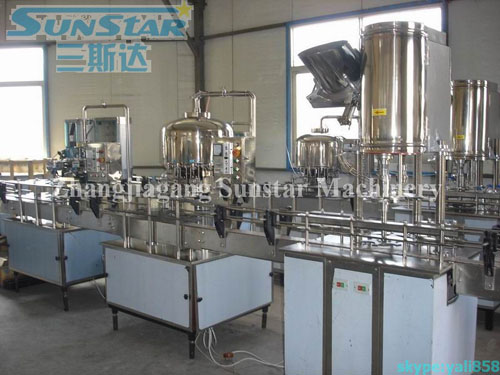 Non-carbonated Beverage Filling Line