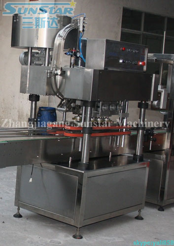 Automatic Glass Jar Capper Twist Off Capping Machine