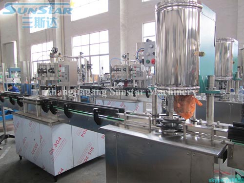 PET Can Filling And Seaming Machine In-line