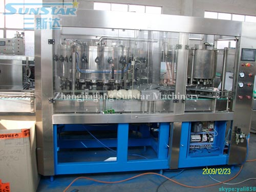 Juice/Milk Drink Can Filling And Seaming Machine 2in1 Of Tin Can
