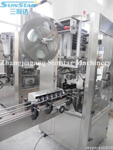 Bottle Mouth/Neck/Cap Sleeve labeling Machine