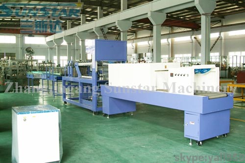 High Speed Film Shrink Wrapping Machine/Plant