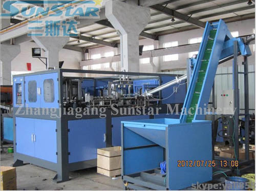 4 Cavity Automatic Plastic Bottle Making Machine