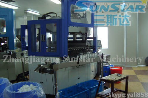 Injection Blowing Machine
