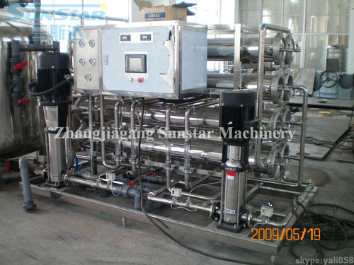 Two stage reverse osmosis