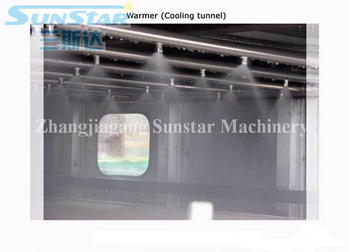 Spray Sterilization Cooling Tunnel
