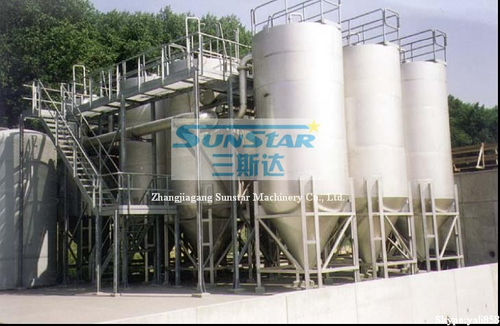 Continuous sand filter, Self-wash flushing sand filter, Continuous sand filter tank